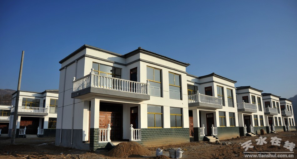 农村一楼飞琉璃瓦自建房设计图